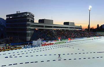 Кубок мира по биатлону дебютировал в Сочи 4 марта 2013 года