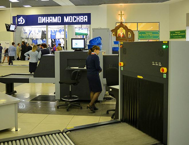 Клубный магазин «Динамо» в Шереметьево