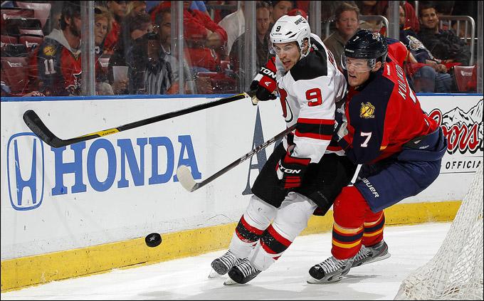 "16 апреля 2012 года. Санрайз. Плей-офф НХЛ. 1/8 финала. ""Флорида Пантерз"" — ""Нью-Джерси Девилз"" — 4:2"