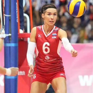 Анна Матиенко — связующая сборной России