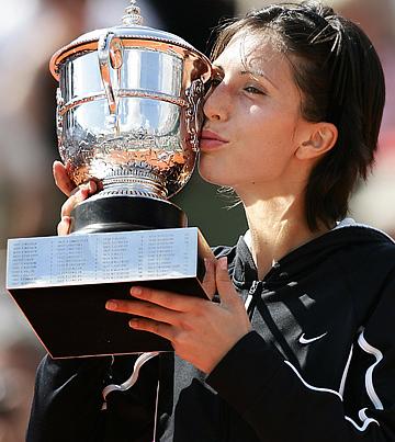 """Анастасия Мыскина в 2004 году открыла череду побед россиянок на турнирах """"Большого шлема"""""""