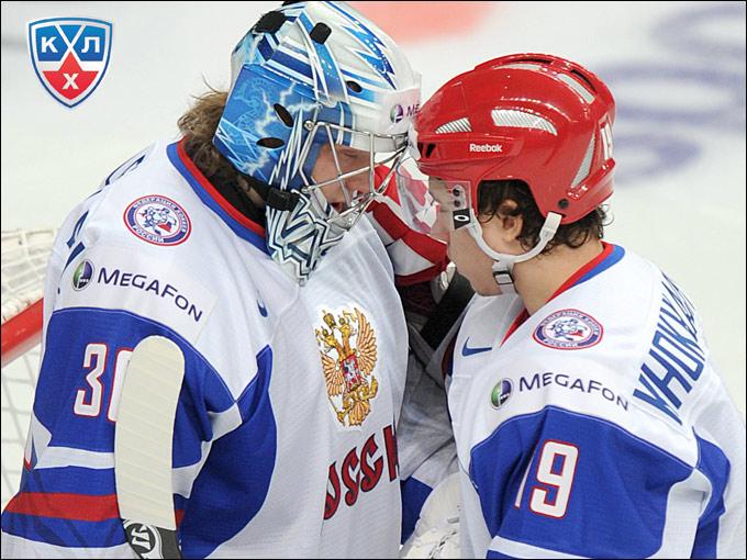 Александр Хохлачёв и Андрей Василевский