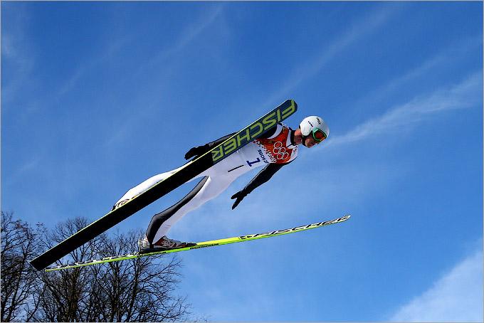 Третье место в прыжках и итоговый провал Климова в лыжном двоеборье