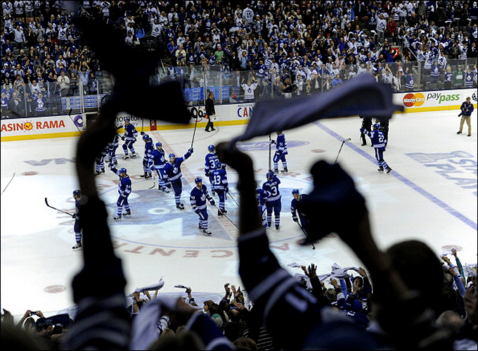 """Итоги сезона НХЛ. """"Торонто Мейпл Лифс"""""""