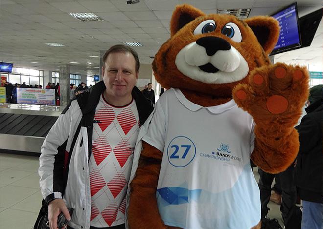 В аэропорту Хабаровска встретились Ероша и не Тоша