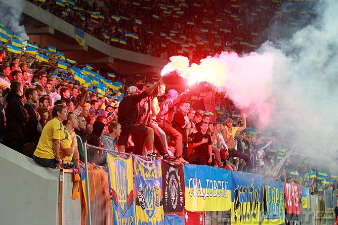 После матча с Сан-Марино во Львове Украина попала под санкции ФИФА