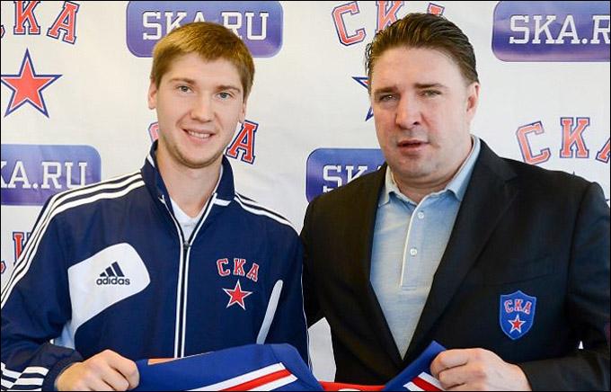 Сергей Бобровский и Алексей Касатонов