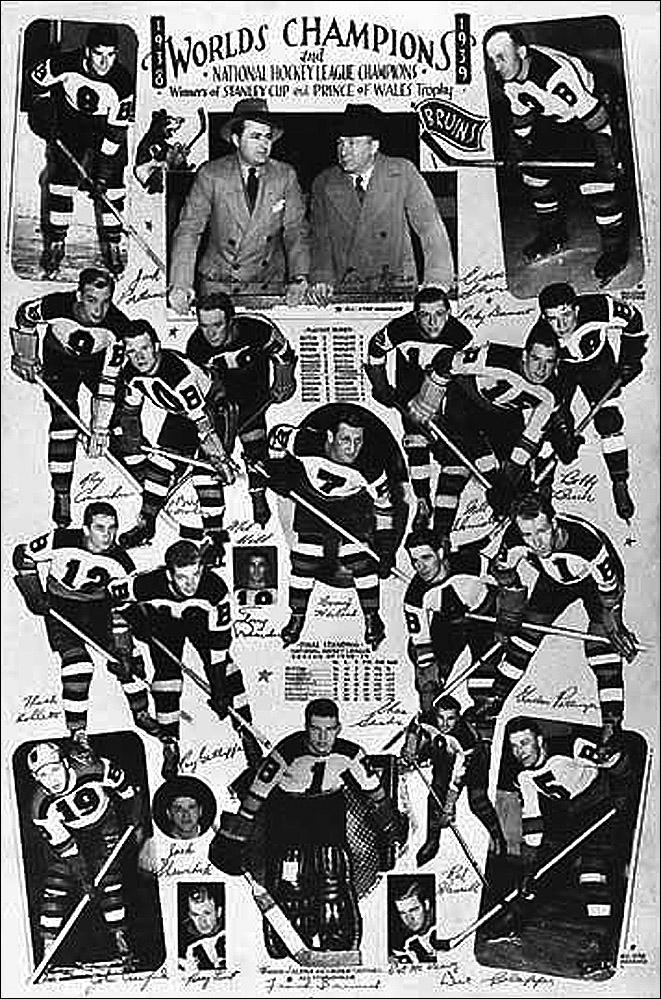 """История Кубка Стэнли. Часть 47. 1938-1939. """"Бостон Брюинз""""."""