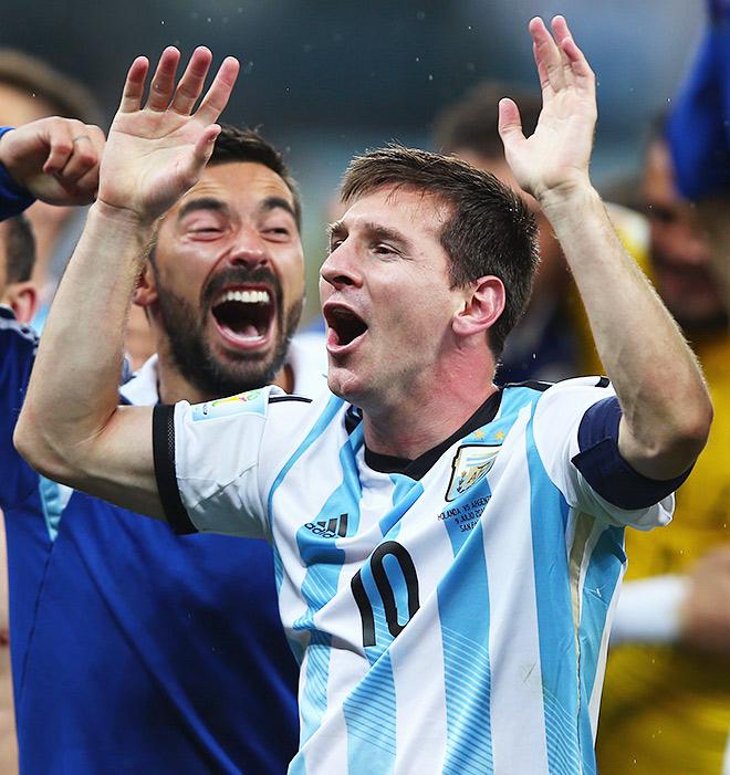 Если Месси выиграет ЧМ-2014 – это тоже будет шаг в вечность, как и победа европейской сборной в Южной Америке, только персональный