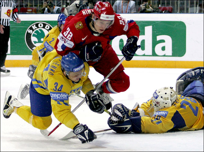 Хоккей. История чемпионатов мира. Часть 26. ЧМ-2006. Фото 03.