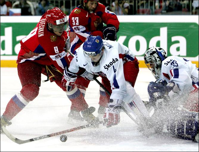 Хоккей. История чемпионатов мира. Часть 26. ЧМ-2006. Фото 05.