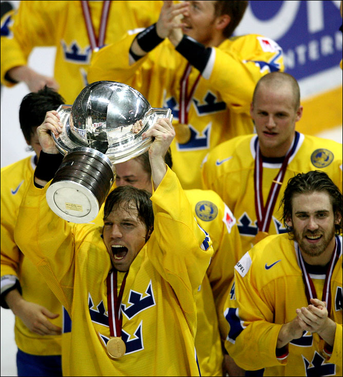 Хоккей. История чемпионатов мира. Часть 26. ЧМ-2006. Фото 07.