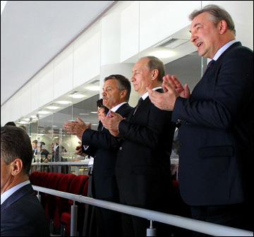 Первые лица страны, мирового и отечественного хоккея — на открытии турнира