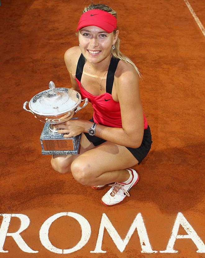 Мария Шарапова дважды побеждала в Риме (2011 и 2012) и является одним из фаворитов нынешнего розыгрыша