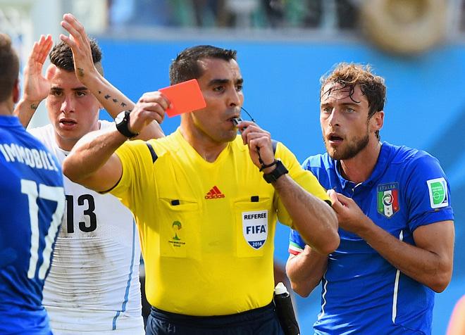 Красная карточка Маркизио