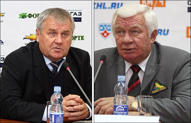 Владимир Крикунов и Сергей Михалёв