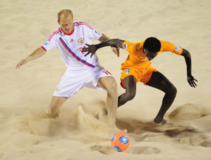 Пляжный футбол. Чемпионат мира. Россия — Кот-д'Ивуар – 5:2