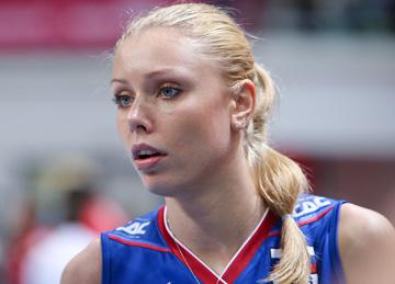 Анастасия Шляховая — лучшая блокирующая российской сборной