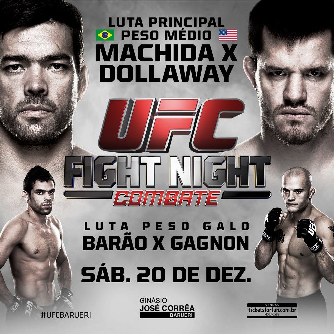 Постер к турниру UFC Fight Night 58