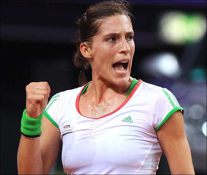 В Страсбурге Андреа завоевала второй титул