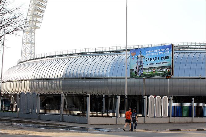 """Новый фасад стадиона """"Шинник"""""""