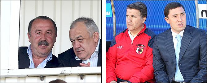 Валерий Газзаев и Таймураз Мамсуров, Николай Латыш и Владимир Газзаев