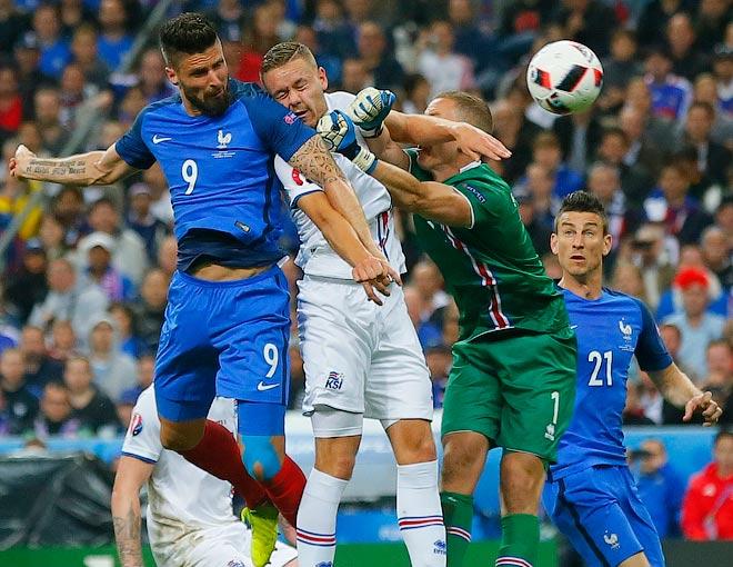 Мгновения 20-го игрового дня Евро-2016
