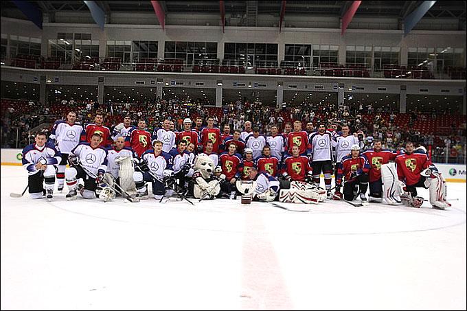 Благотворительный матч. Друзья Кузнецова — Друзья Медведева