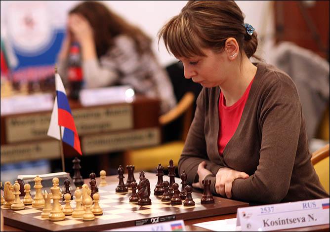 Благодаря успешной игре в воскресенье Надежда Косинцева вышла на пятое место