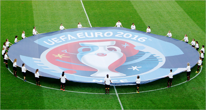Онлайн-трансляция жеребьёвки Евро-2016