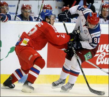 Владимир Тарасенко против сборной Чехии