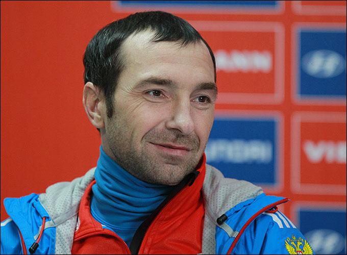 Лидер сборной России Дмитрий Васильев