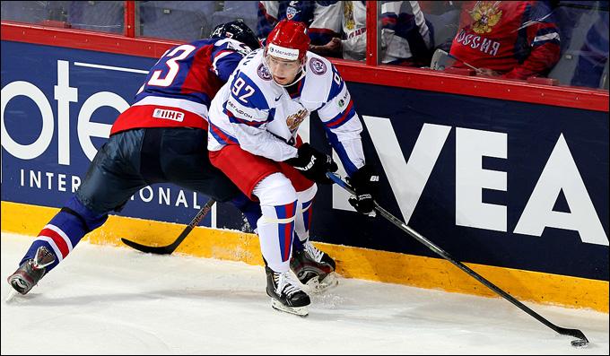 Евгений Кузнецов: первый матч на чемпионате мира удался