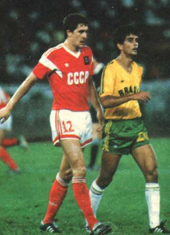В финальном матче Олимпиады-88 сборная СССР обыграла Бразилию — 2:1