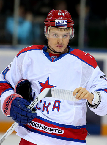 Михаил Грабовский в ЦСКА