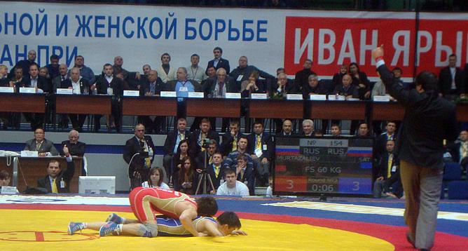 Победный бросок Расула Муртазалиева