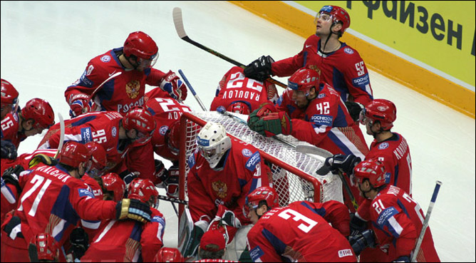 Хоккей. История чемпионатов мира. Часть 27. ЧМ-2007. Фото 01.