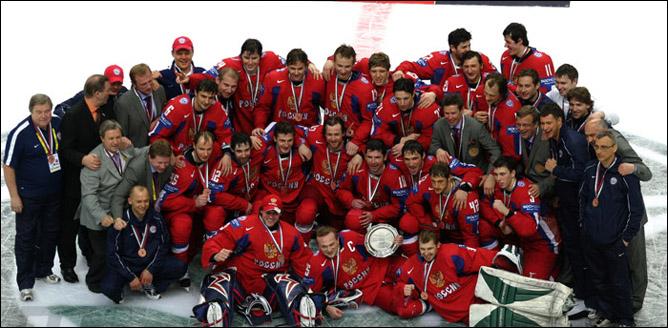 Хоккей. История чемпионатов мира. Часть 27. ЧМ-2007. Фото 08.
