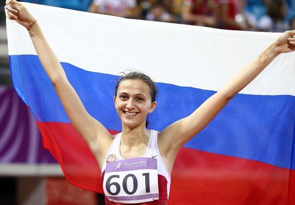 """Мария Кучина выиграла """"золото"""" для России на летних юношеских Олимпийских играх 2010 года"""