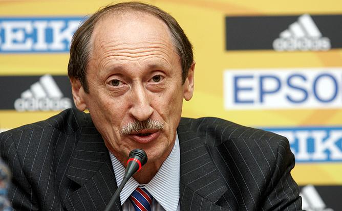 Президент ВФЛА Валентин Васильевич Балахничёв