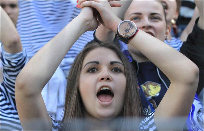 Фанатка из Одессы