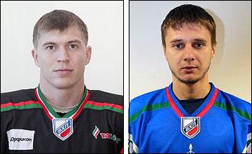 Даниэль Насыбуллин и Сергей Денисов