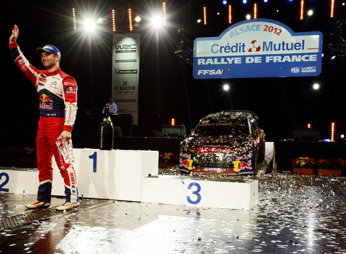 Себастьен Лёб – победитель Ралли Франции — 2012