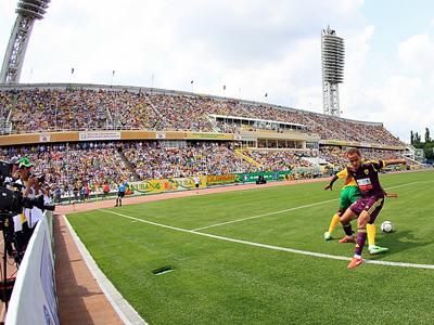 В Краснодаре футбол действительно популярен