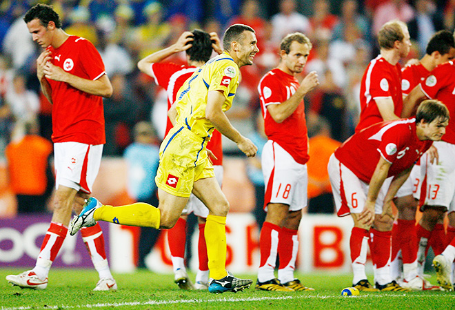 2006: ШВЕЙЦАРИЯ – УКРАИНА – 0:0 (по пенальти – 0:3)