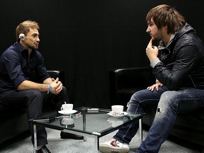 Али Багаутинов и Константин Устьянцев