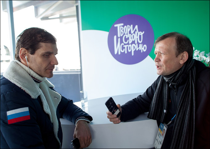 Алексей Яшин и Александр Шмурнов