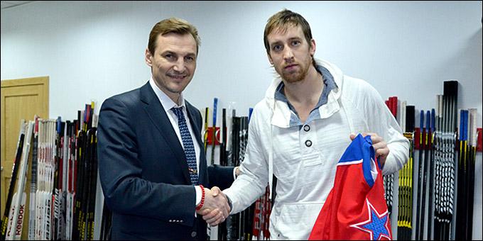 Шон Моррисонн (справа) и Сергей Фёдоров