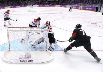 14 февраля 2014 года. Сочи. XXII зимние Олимпийские игры. Хоккей. Групповой этап. Канада — Австрия — 6:0