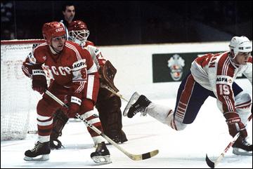 Владимир Крутов против сборной Канады, 1985 год